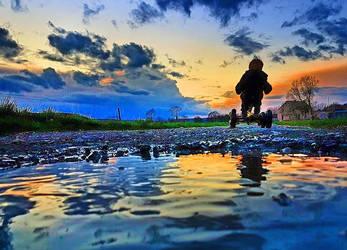 Towards the Horizon by BenHeine