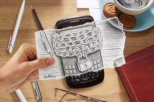 Pencil Vs Camera - Artificial Intelligence (2) by BenHeine
