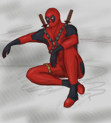 Deadpool by Waldratte
