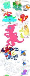The 150 Pokemon speed challenge (1-18) by Sexypotato
