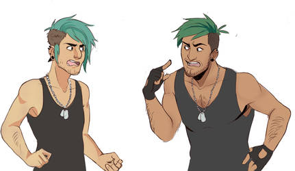 Marcus vs Marcus by Jinyuu