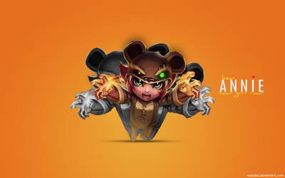 Reverse Annie Wallpaper - League of Legends by mazeko