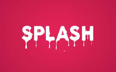 Splash Wallpaper - 1440x900 by mazeko