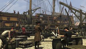 Harbor scene by richmel1