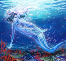 Original-mermaid by xRheax