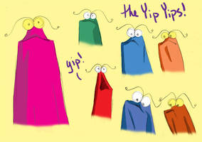 yip yips from sesame street by Oboe