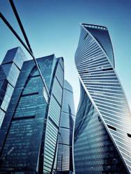 #Blue #Moscow #City by ubinko