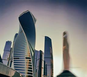 #MoscowCity atmo by ubinko