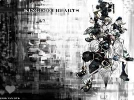 Kingdom Hearts II by gankutsouthecount