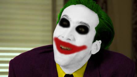 Nick Cage Joker by Frixosisawesome2002