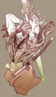samurai attack by Brolo