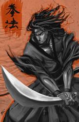 Samurai comission by Brolo