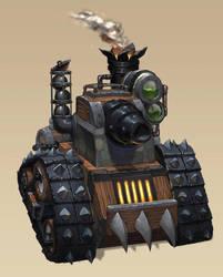 Gnome Tank by Brolo