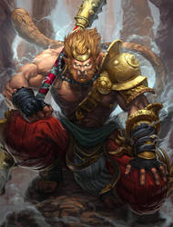 Smite Sun Wukong by Brolo