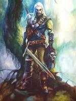 The Witcher by Beljen