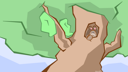 Poke Tree Vector Version(Wallpaper Download) by SkellerArt