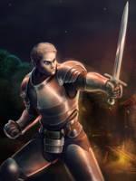 Warrior by WolfMagnum