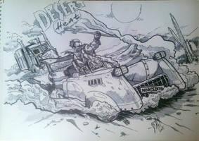 Desert Heat by WolfMagnum