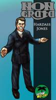 Hardass Jones by WolfMagnum