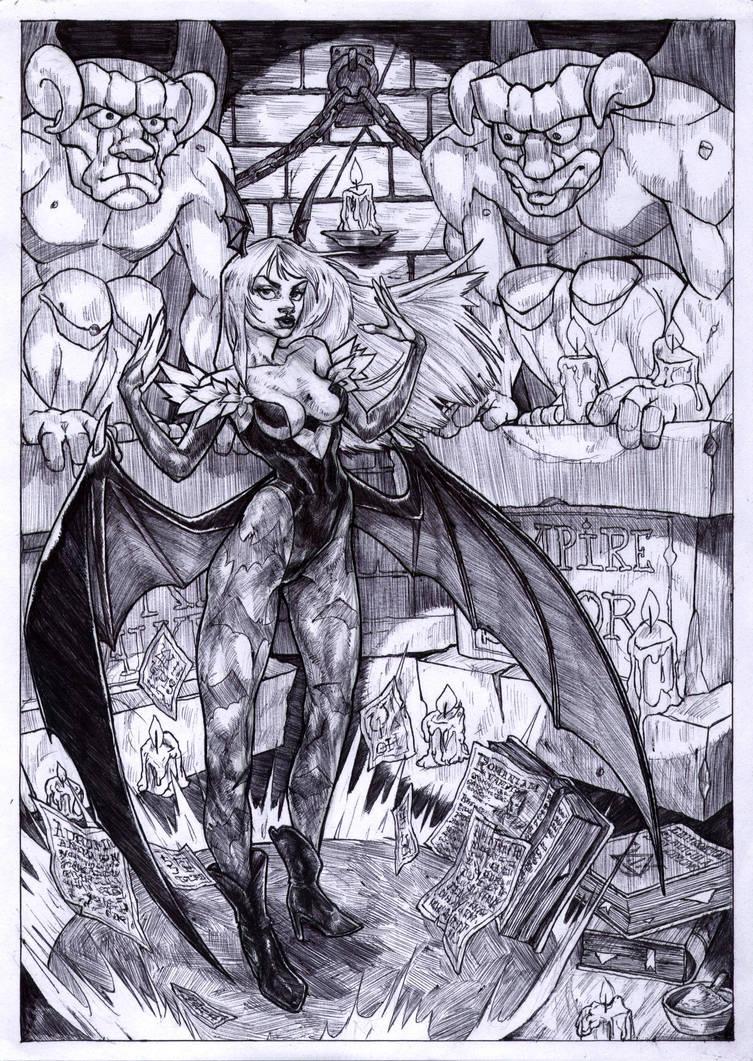Morrigan Aensland by WolfMagnum