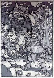 Ghosts'n'Goblins by WolfMagnum