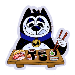 sushi by dogboot