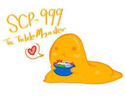 SCP-Kawaii Blobby Thingy by redrumTerror