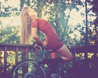 rachel on her bike2 by keyamo
