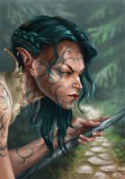 Elven princess by artoftas