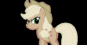 Applejack, the element of DISHONESTY by xxxlemondroplovexxx