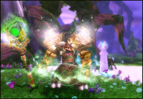 Harfalem the Druid by Bluence