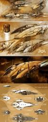 CURATE - amarr battleship by Nexusdesigner