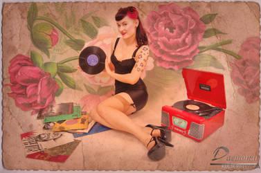 Nina Holy Retro 001 by Daemonai