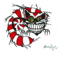 Cheshire Cat by Orchidorca