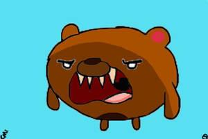 Adventure Time Bear by AdventureTime1Fan