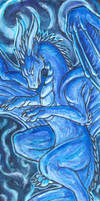 aceo Penny Dragon by Kirsch-vanderWit