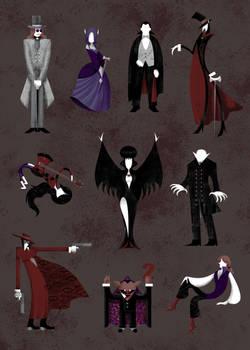 The Vampire Type Guide by ChibiDonDC