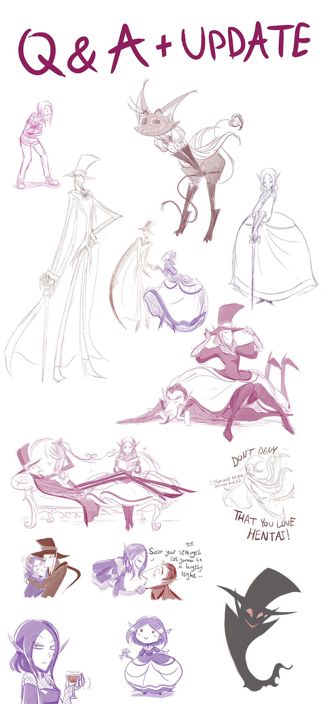Sketch Dump by ChibiDonDC
