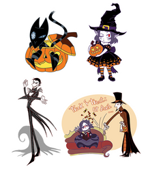 THE STICKERS ARE OUT! by ChibiDonDC