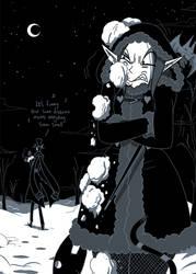 Vampiress Of Winter by ChibiDonDC