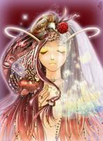 wedding of the snailprincess by TIYA