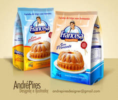 Francesa Alimentos by andrepiresdesign