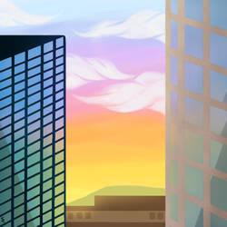 Gaze Through The Window by sach216
