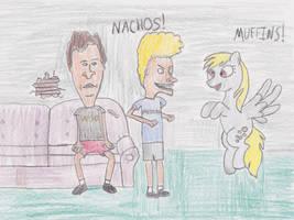 Of Muffins and Nachos by DarkKnightWolf2011