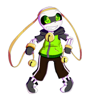 Chaser!Sans Pixel art experiment by CyaneWorks