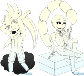 Patreon: Dash and Okie by CyaneWorks