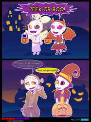 Nectober days 7 8 18 25 by CyaneWorks