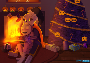 Happy Hallowmas by CyaneWorks