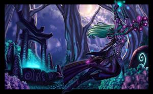 Elf Druid by SaraForlenza