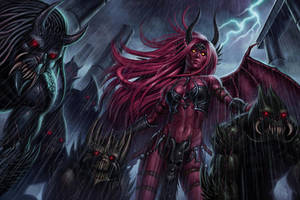 Baal and her Demons by SaraForlenza